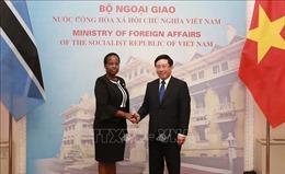 Việt Nam và Botswana nhất trí đưa quan hệ hợp tác song phương đi vào chiều sâu và hiệu quả