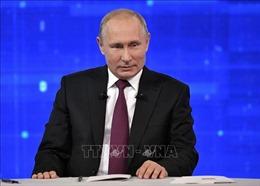 Tổng thống Vladimir Putin chúc mừng hãng thông tấn TASS tròn 115 tuổi