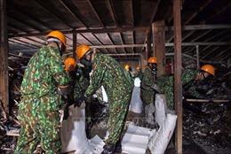 Đã rải hóa chất chống phát tán, lan tỏa thủy ngân ra môi trường tại Công ty Cổ phần Rạng Đông