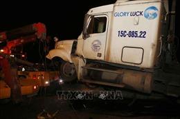 Xác định được danh tính lái xe gây tai nạn trên cầu Thanh Trì