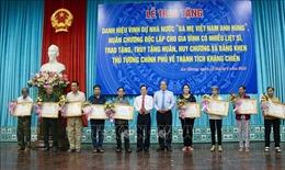 Lễ phong tặng, truy tặng danh hiệu 'Bà mẹ Việt Nam anh hùng' tại An Giang
