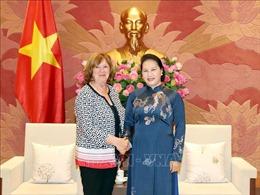 Chủ tịch Quốc hội Nguyễn Thị Kim Ngân tiếp Chủ tịch Nhóm nghị sĩ hữu nghị Pháp-Việt