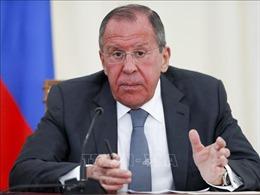 Nhận định của Ngoại trưởng Nga về căng thẳng tại vùng Vịnh và tình hình Syria
