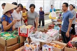 Gần 300 gian hàng tham gia Hội chợ Thương mại Lai Châu năm 2019