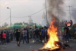 Biểu tình bạo lực tại Iraq diễn biến phức tạp