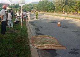 Xe chở gỗ dăm đâm nhóm người đi bộ tập thể dục, một phụ nữ tử vong