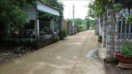 Xóm 'nước nổi'giữa lòng thành phố Đồng Xoài đã khô ráo