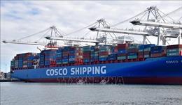Mỹ tạm thời miễn trừ trừng phạt các công ty giao dịch với COSCO