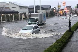 Nhật Bản tiếp tục hứng chịu mưa lớn sau siêu bão