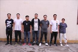 Trao trả 7 đối tượng người Trung Quốc phạm tội tại Lào Cai