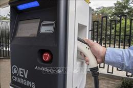 Mục tiêu '1 triệu điểm sạc điện cho ô tô'ở Đức