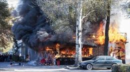 Cháy nổ liên tiếp ở thủ đô Kyrgyzstan làm 14 người thương vong