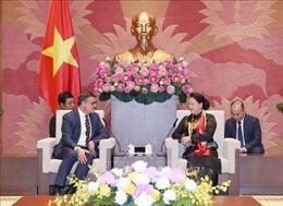 Chủ tịch Quốc hội Nguyễn Thị Kim Ngântiếp Chủ tịch Nghị viện bang Hessen, Đức