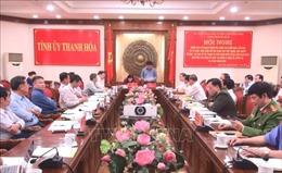 Đoàn công tác Ban Chỉ đạo Trung ương về phòng, chống tham nhũng làm việc tại Thanh Hóa