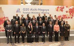 Hội nghị Ngoại trưởng G20: Việt Nam kêu gọi tiếp tục đề cao chủ nghĩa đa phương