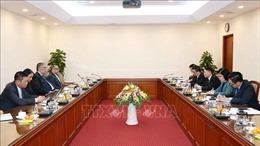 Tổng giám đốc TTXVN Nguyễn Đức Lợi tiếp Tổng Bí thư MIU