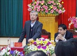 Thường trực Ban Bí thư Trần Quốc Vượng làm việc với Ban Thường vụ Tỉnh ủyNghệ An