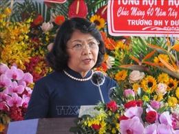 Phó Chủ tịch nước dự Lễ kỷ niệm 40 năm thành lập Trường ĐH Y Dược Cần Thơ