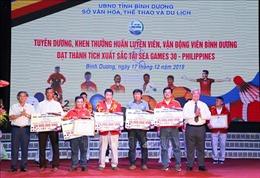 Tuyên dương, khen thưởng huấn luyện viên, vận động viên xuất sắc tại SEA Games 30