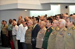 Cuba tôn vinh truyền thống anh hùng của Quân đội Nhân dân Việt Nam
