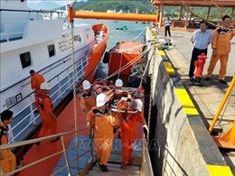Kịp thời cứu nạn thuyền trưởng bị nguy kịch trên vùng biển Hoàng Sa