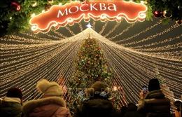 Moskva đón Năm mới 2020 trong tiết trời ấm áp lạ thường