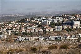 Israel tiếp tục kế hoạch xây dựng nhà định cư tại Jerusalem và Bờ Tây