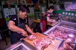 Trung Quốc hạ thuế nhập khẩu thịt lợn đông lạnh