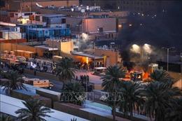Iraq: Người biểu tình rút khỏi Đại sứ quán Mỹ ở thủ đô Baghdad- Tạm ngừng hoạt động lãnh sự
