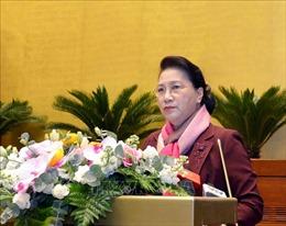 Chủ tịch Quốc hội gặp mặt nguyên lãnh đạo, cán bộ hưu trí Văn phòng Quốc hội