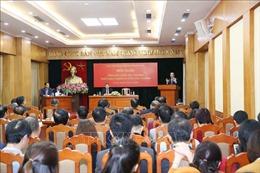 Chủ động thúc đẩy quan hệ đối ngoại Đảng