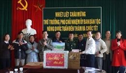 Đoàn công tác của Ủy ban Dân tộc chúc Tết nhân dân các dân tộc tỉnh Lai Châu