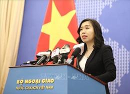 Việt Nam quan tâm theo dõi, đánh giá các hoạt động liên quan đến nguồn nước sông Mekong