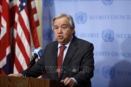 Tổng thư ký Antonio Guterres kêu gọi tuân thủ Hiến chương Liên hợp quốc