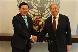 Tổng Thư ký LHQ và quan chức các nước đánh giá cao vai trò quốc tế của Việt Nam