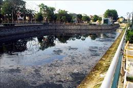 Ô nhiễm nghiêm trọng tại kênh hào thành cổ Vinh