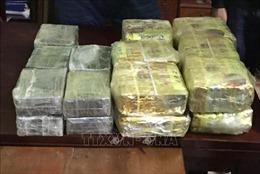 Phát hiện xe ô tô chở 54 bánh heroin từ Điện Biên về Hưng Yên
