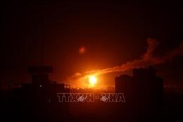 Israel tấn công một số địa điểm quân sự tại Dải Gaza