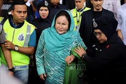 Phu nhân cựu Thủ tướng Najib không hầu tòa vì lý do sức khỏe