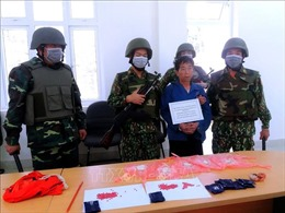 Biên phòng Thanh Hóa liên tiếp bắt 3 vụ vận chuyển ma túy