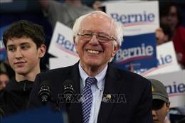 Bầu cử Tổng thống Mỹ 2020: Ông Bernie Sanders bứt phá trong cuộc đua của đảng Dân chủ