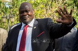Nam Sudan bổ nhiệm thủ lĩnh phiến quân Riek Machar làm Phó Tổng thống