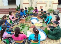 Ấm áp tình hữu nghị Việt - Lào nơi vùng cao
