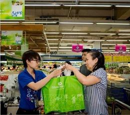 Hướng tới xây dựng liên minh siêu thị giảm thiểu tiêu thụ túi nilon