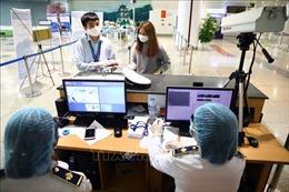 Dịch COVID-19: Khách đi máy bay, xe khách, tàu hỏa phải khai báo y tế điện tử bắt buộc