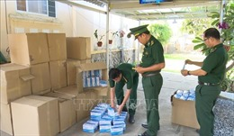 Ngăn chặn hàng loạt vụ thẩm lậu khẩu trang qua biên giới Campuchia