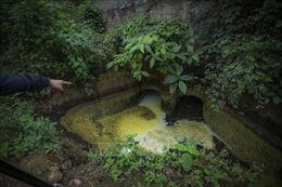 Bị phạt 210 triệu đồng về hành vi xả chất thải nguy hại vào môi trường