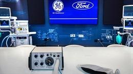 Hãng xe Ford hợp tác sản xuất máy thở