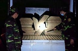 Bắt quả tang vụ vận chuyển gỗ trái phép tại Thừa Thiên - Huế