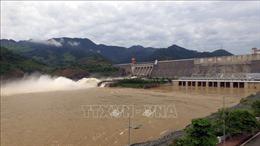 Thủy điện Sơn La đảm bảo an toàn hồ, đập trước diễn biến phức tạp của thời tiết